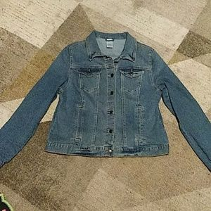 Fall Jean Jacket Large